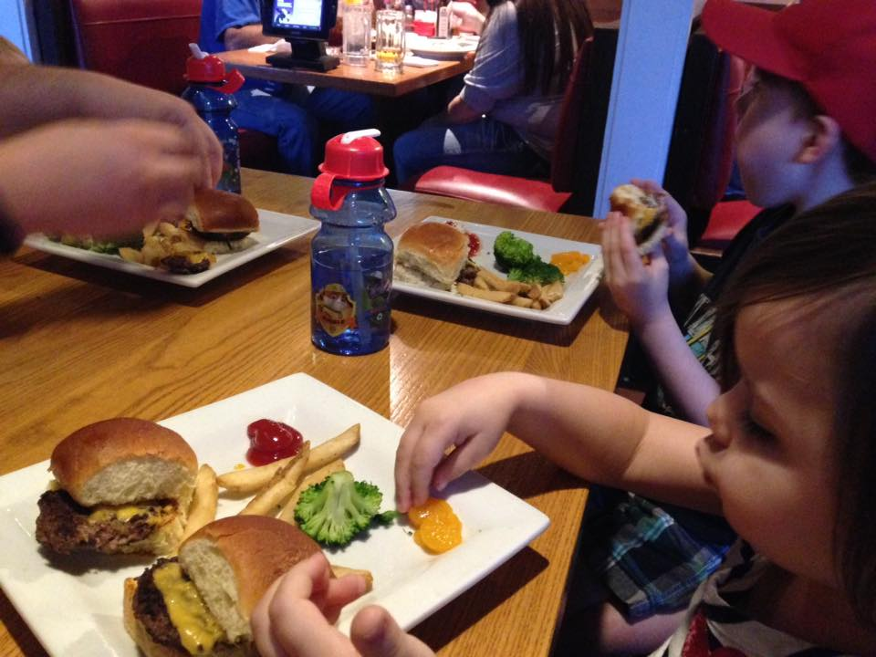 Here's a great way to create a more balanced meal when eating out without breaking the bank.