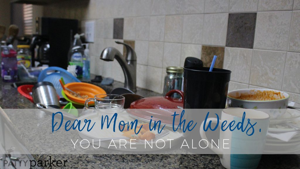 Mom, you're not alone. Mothers everywhere, whether they don a business suit or yoga pants, are treading water. And that's okay.
